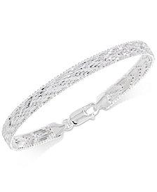 Giani Bernini Riccio Bracelet in Sterling Silver, Created for Macy's