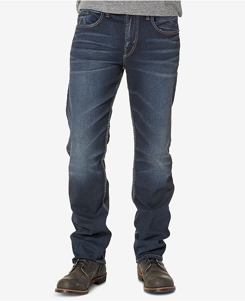 Silver Jeans Co. Men's Grayson Big and Tall Easy Fit Jeans
