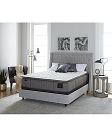 "Stearns & Foster Estate Garrick 14.5"" Luxury Plush Euro Pillow Top Mattress Set- California King"