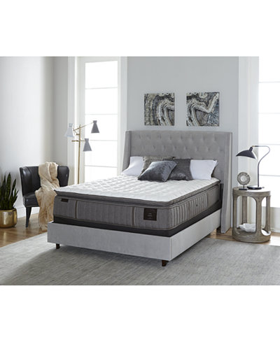 Signature Garrick 14 5 Luxury Plush Euro Pillowtop Mattress Set King