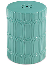 Wren Ceramic Garden Stool, Quick Ship