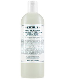Bath & Shower Liquid Body Cleanser - Coriander, 16.9-oz.