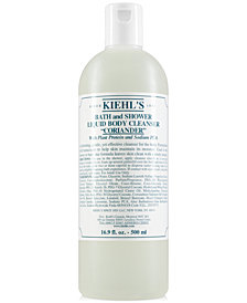 Kiehl's Since 1851 Bath & Shower Liquid Body Cleanser - Coriander, 16.9-oz.
