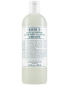 Kiehl's Since 1851 Bath & Shower Liquid Body Cleanser - Coriander, 16.9-oz.