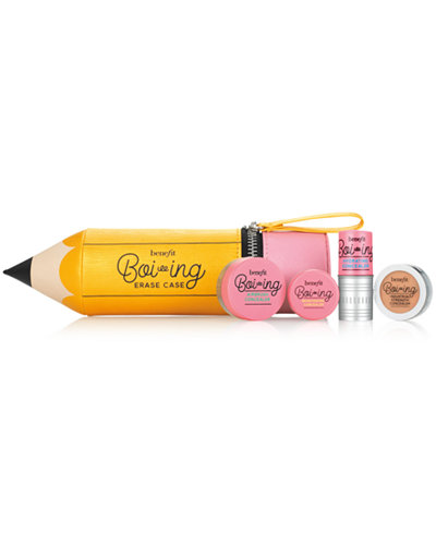 Benefit Cosmetics 5-Pc. Erase Case Set