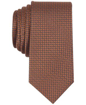 Tallia Men's Poole Neat Slim Silk Tie thumbnail