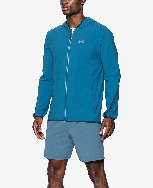 Under Armour Men s Run True Jacket - Hoodies   Sweatshirts - Men ... c949eaa74