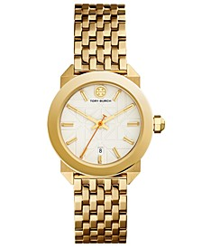 Women's Whitney Gold-Tone Stainless Steel Bracelet Watch 35mm
