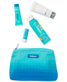 Coola 5-Pc. Go Green Not Red! Travel Set
