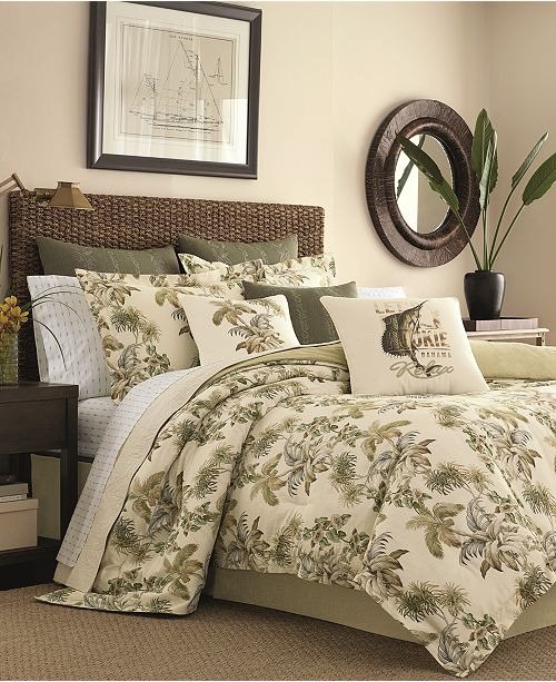 Revman Industries Tommy Bahama Home Nador 4-Pc. California King Comforter Set