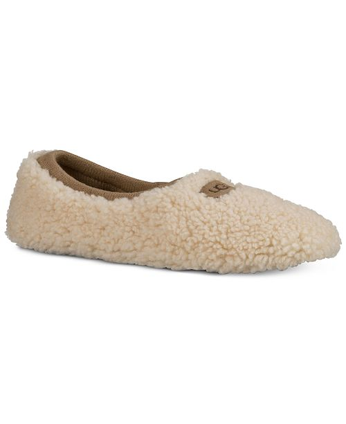 6a2f1ae3ce14 UGG® Women s Birche Ballet Slippers   Reviews - Slippers - Shoes ...