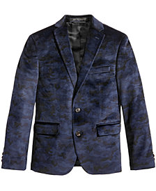 Lauren Ralph Lauren Camo Velvet Jacket, Big Boys