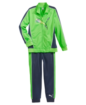 Puma 2Pc Track Jacket  Track Pants Set Toddler Boys (2T5T)