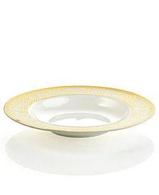 Cru Dinnerware, Athena Rim Soup Bowl