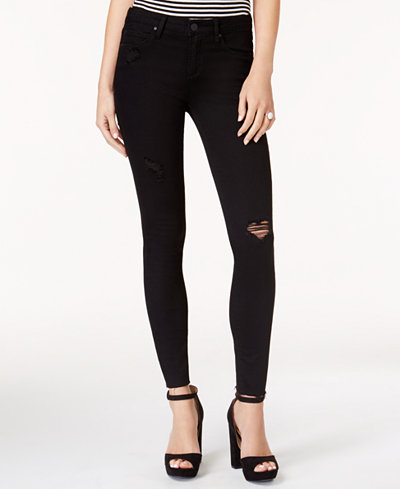 Articles of Society Sarah Ankle Skinny Ripped Jeans