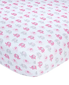 100% Cotton Sateen Fitted Crib Sheet