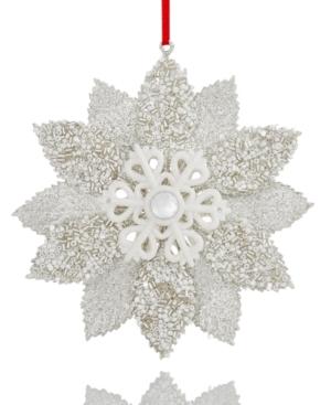 Holiday Lane White Glitter...