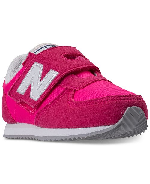New Balance Toddler Girls' 220 Casual Sneakers from Finish