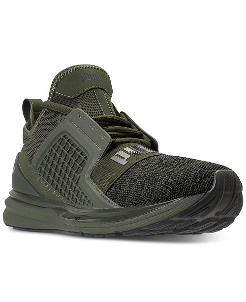 Puma Men s Ignite Limitless Knit Casual Sneakers from Finish Line ... b1ae869f8