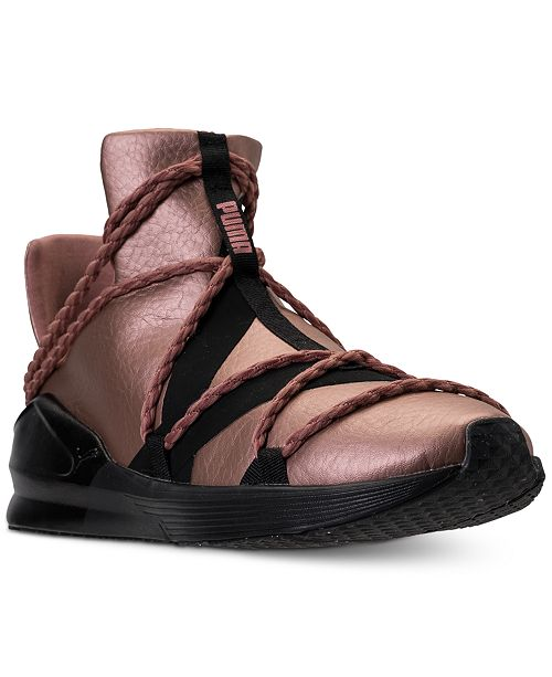 0dabd892df93d3 ... Puma Women s Fierce Rope Copper Velvet Rope Training Sneakers from  Finish ...