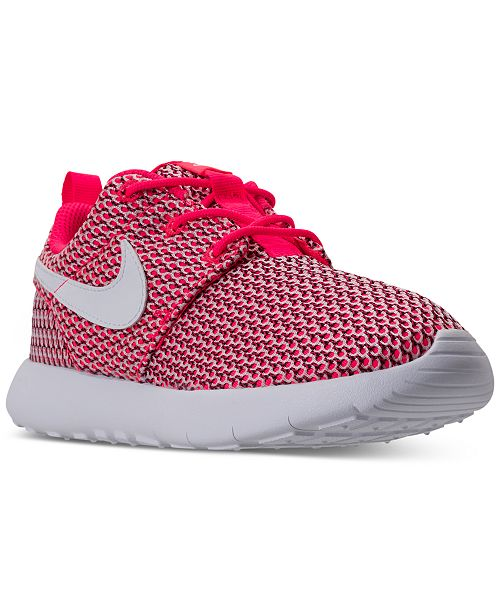 separation shoes 1b2a8 128ca Nike Little Girls' Roshe One Casual Sneakers from Finish ...