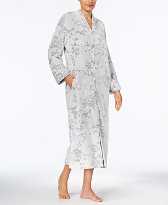 Charter Club Long Zip-Front Robe, Created for Macy's