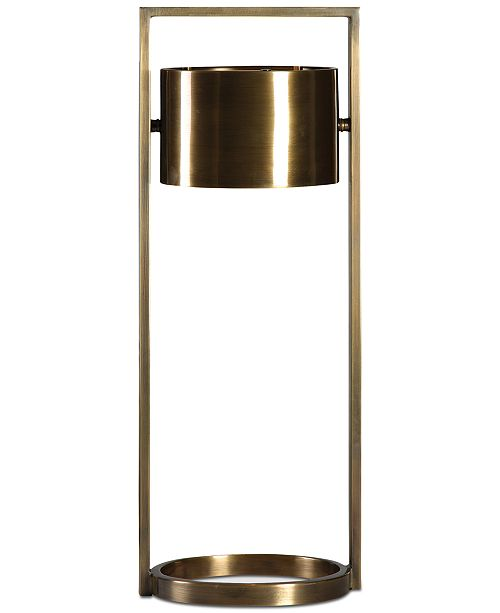 Uttermost Ilario Suspended Drum Shade Table Lamp