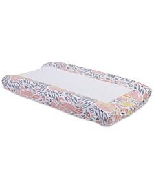 DwellStudio Boheme  100% Cotton Percale Graphic-Print Changing Pad Cover