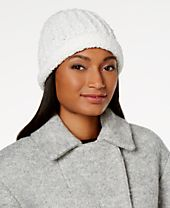 I.N.C. Chenille Knit Beanie, Created for Macy's