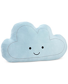 Little Love by NoJo Happy Little Clouds Embroidered Plush Decorative Pillow