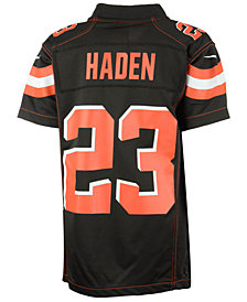 Nike Joe Haden Cleveland Browns Game Jersey, Big Boys (8-20)