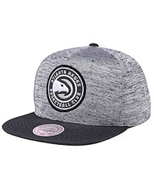 Mitchell & Ness Atlanta Hawks Space Knit Snapback Cap