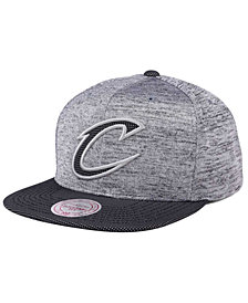 Mitchell & Ness Cleveland Cavaliers Space Knit Snapback Cap