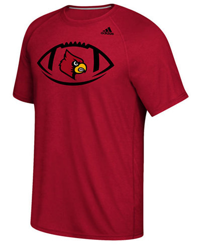 adidas Men's Louisville Cardinals Pigskin T-Shirt