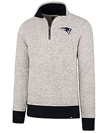 '47 Brand Men's New England Patriots Kodiak Quarter-Zip Pullover