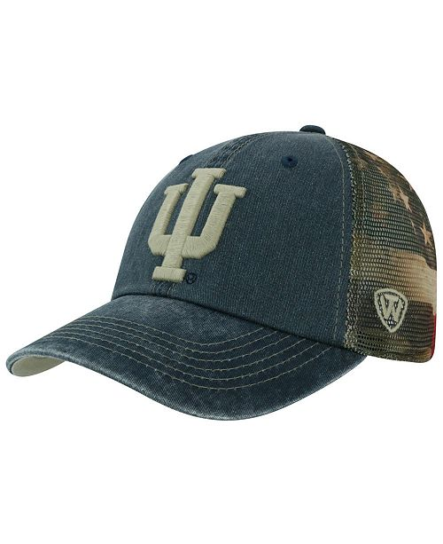 promo code 4ee8a 24e4d ... Top of the World Indiana Hoosiers Flagtacular Cap ...