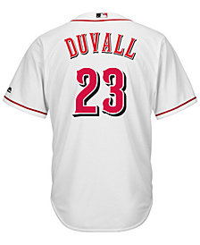 Majestic Men's Adam Duvall Cincinnati Reds Player Replica CB Jersey