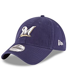 Milwaukee Brewers On Field Replica 9TWENTY Fitted Cap