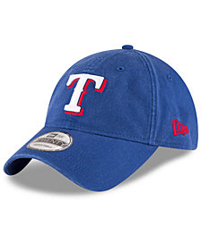 New Era Texas Rangers On Field Replica 9TWENTY Fitted Cap