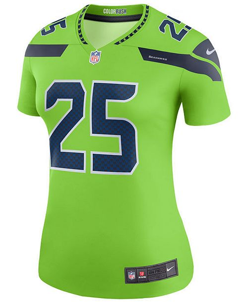 sale retailer 60c35 5df33 Nike Women's Richard Sherman Seattle Seahawks Color Rush ...