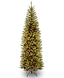7' Kingswood Fir Pencil Tree With 250 Dual Color® LED Lights & PowerConnect™