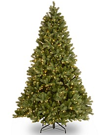 7.5' Feel Real® Downswept Douglas Fir Hinged Tree With 750 Dual Color® LED Lights & PowerConnect™
