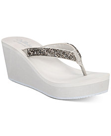 Callisto Hayden Thong Platform Wedge Sandals