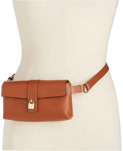 Michael Kors Gramercy Leather Belt Bag   Reviews - Handbags ... 9e5afb6b24c35