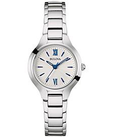 Women's Classic Stainless Steel Bracelet Watch 28mm