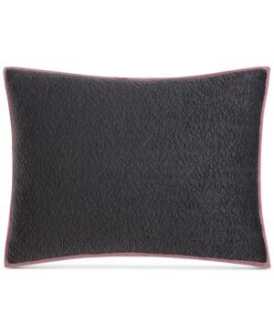 Closeout! Tracy Porter Velvet Quilted Standard Sham Bedding 4987903