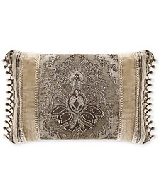 "J Queen New York Bradshaw 21"" x 15"" Boudoir Decorative Pillow"
