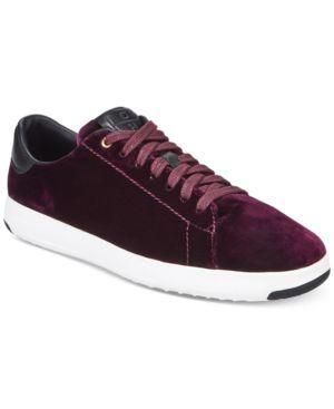 Cole Haan Women's GrandPro Lace-up Tennis Sneakers 6114653