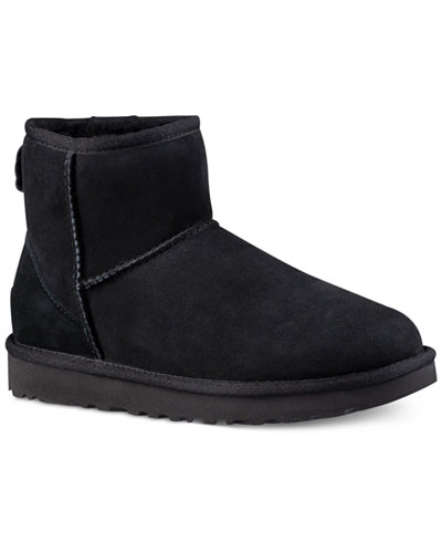 UGG Womens Classic II Genuine ShearlingLined Mini Boots Boots - Free creative invoice template official ugg outlet online store