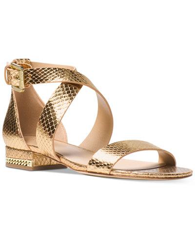 MICHAEL Michael Kors Sabrina Flat Sandals
